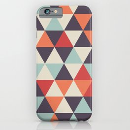 Crazy Color Geometric Pattern iPhone Case