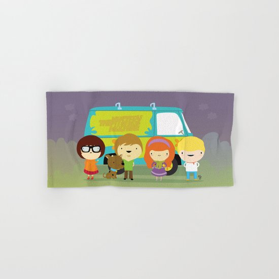 Little scooby characters Hand & Bath Towel