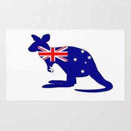 Australian Flag - Kangaroo Rug