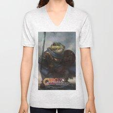 A knightly Frog  Unisex V-Neck
