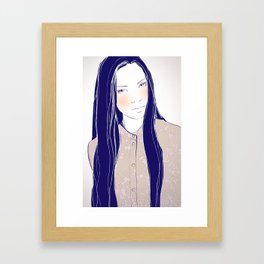 Are you sure? Framed Art Print