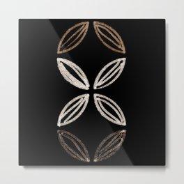 Mid Century Flower (vertical) Metal Print