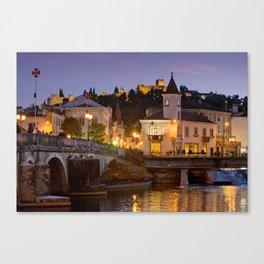 Tomar town centre, Portugal Canvas Print