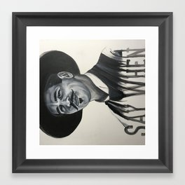 Doc Framed Art Print
