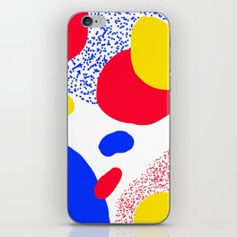 Primary Dots iPhone Skin