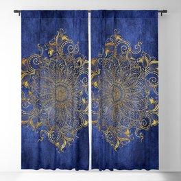 Blue velvet Blackout Curtain