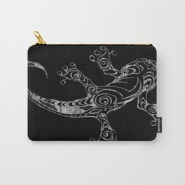 Lizard in Reverse Carry-All Pouch