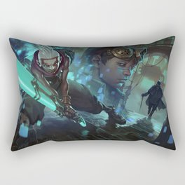 Ekko Comic League of Legends Rectangular Pillow