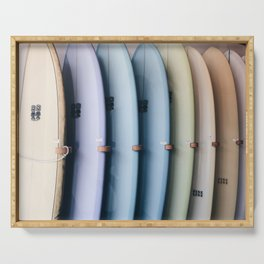 SURF'S UP / Los Angeles, California Serving Tray