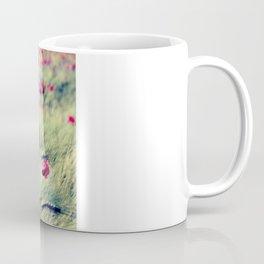 Poppies in cornfield Coffee Mug