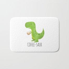 Coffee-saur Bath Mat