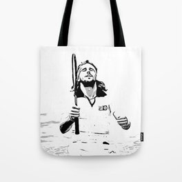 Borg Wins Wimbledon for 5th straight time Tote Bag