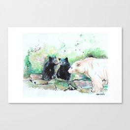 Spirit Bears Canvas Print