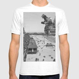 Old Time Godzilla in Atlantic City T-shirt