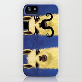 Evil Twin iPhone Case