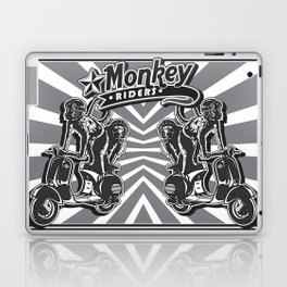 Monkey Riders Laptop & iPad Skin