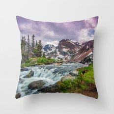 Lake Isabelle Throw Pillow