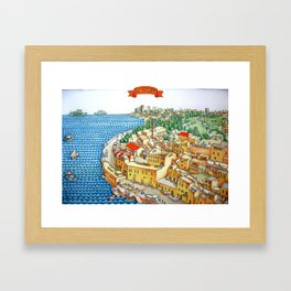 Old Jaffa Framed Art Print