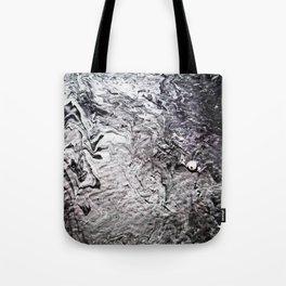 Black Lava III Tote Bag