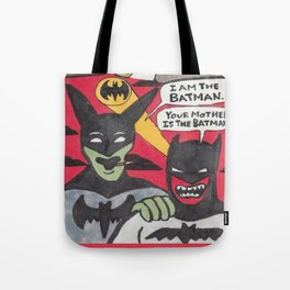 Beware the Batmen Tote Bag