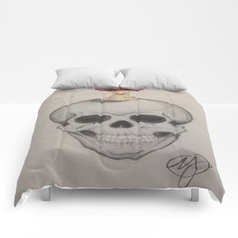 Skull and Apple Comforters