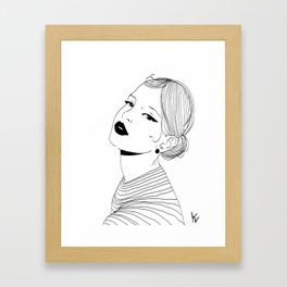 Woman #5 Framed Art Print