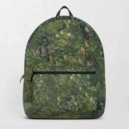 Horse Chestnut Tree in Blossom Backpack