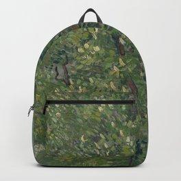 Horse Chestnut Tree in Blossom Backpack