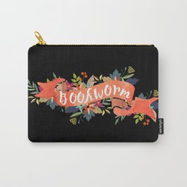 Bookworm (Black) Carry-All Pouch