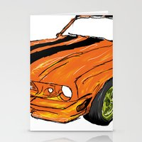 mustang Stationery Cards featuring Mustang by Portugal Design Lab