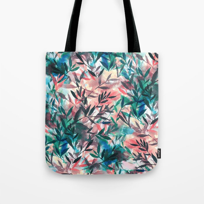 Changes Coral Tote Bag
