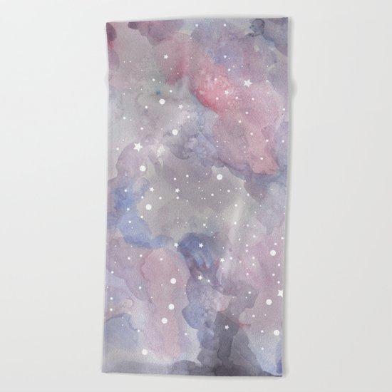 Star sky Beach Towel