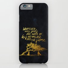 Wuthering Heights - Souls - Gold Foil Slim Case iPhone 6