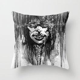 Rain Stylin Throw Pillow