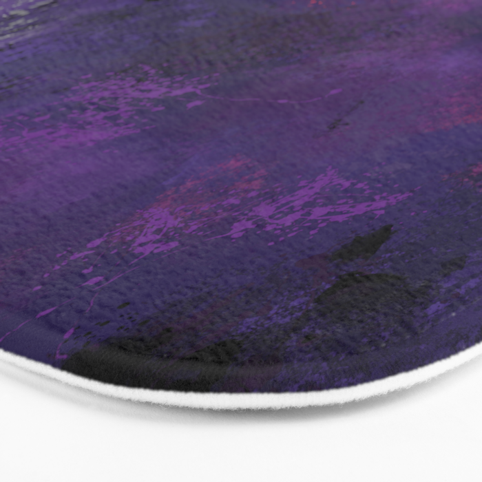 Purple Rain Bath Mat