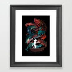 The Fishing Trip Framed Art Print