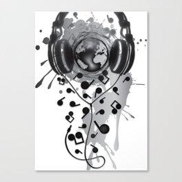 Earth_Music Canvas Print