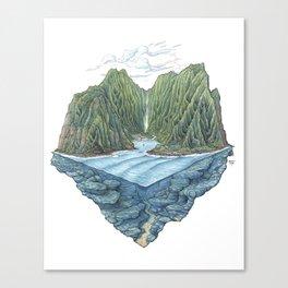 Mana Bay Canvas Print