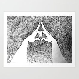 Mudra Art Prints | Society6