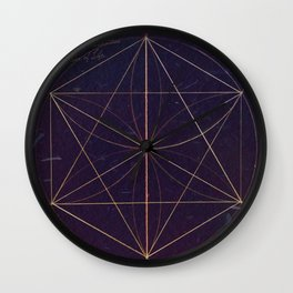 The Hexagon Construction Wall Clock