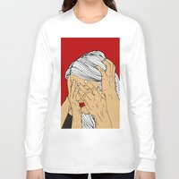 introvert Long Sleeve T-shirts featuring Introvert 4 by Heidi Banford