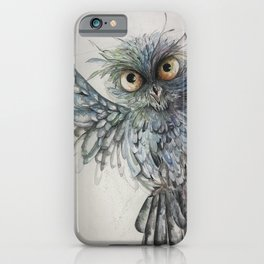 Approaching to you_Owl 5 iPhone Case