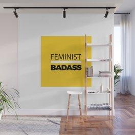 Feminist Badass Wall Mural