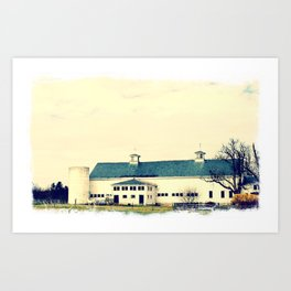 Hobbs Farm & Jericho Art Print