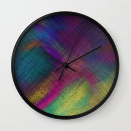 The Spirit of Color Wall Clock