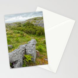 Cloudy Poulnabrone Landscape Stationery Cards