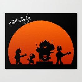 Get Peachy Canvas Print