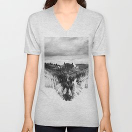 Owl Mid Flight Unisex V-Neck