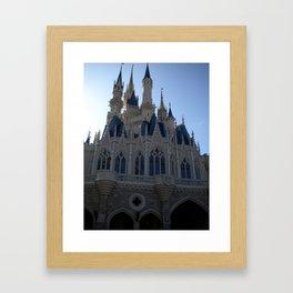 Disney World Cinderella's Castle  Framed Art Print