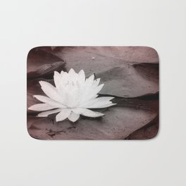 Lily Pad  Photo Bomber Bath Mat